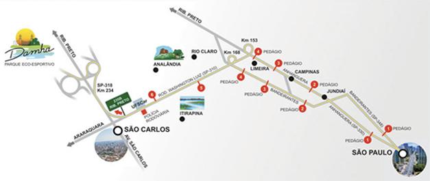 Acesso Rodoviário - Damha Golf Club